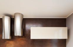 Εσωτερικό, δύο κουκούλες κουζινών Στοκ Εικόνα