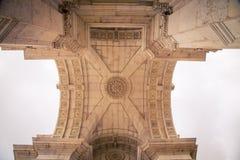 Εσωτερικό Arco DA Rua Αουγκούστα Στοκ Εικόνες