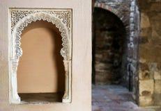 Εσωτερικό arhitecture Alcazaba Στοκ φωτογραφίες με δικαίωμα ελεύθερης χρήσης