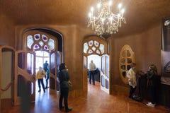 Εσωτερικό Casa Batllo στοκ φωτογραφίες