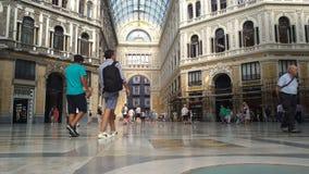 Εσωτερικό Galleria Umberto I φιλμ μικρού μήκους