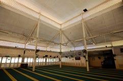 Εσωτερικό Masjid Tanjung API σε Kuantan, Μαλαισία Στοκ Φωτογραφίες