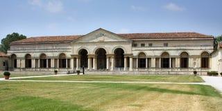 εσωτερικό palazzo της Ιταλίας mantova προσόψεων te Στοκ εικόνα με δικαίωμα ελεύθερης χρήσης