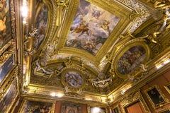 Εσωτερικό Palazzo Pitti, Φλωρεντία, Ιταλία Στοκ εικόνες με δικαίωμα ελεύθερης χρήσης