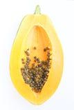 εσωτερικό papaya Στοκ φωτογραφία με δικαίωμα ελεύθερης χρήσης