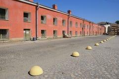 εσωτερικό plaza Paul Peter φρουρίων Στοκ Φωτογραφία