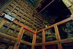 εσωτερικό potala παλατιών στοκ εικόνες