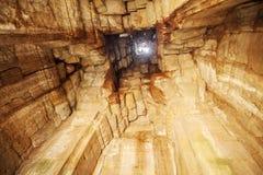Εσωτερικό Prasat Bayon, Angkor Thom, Siem συγκεντρώνει, Καμπότζη Στοκ Εικόνες