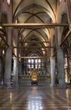 εσωτερικό santa Βενετία της Μ&a Στοκ Εικόνες