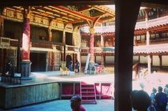 Εσωτερικό Shakespeare& x27 θέατρο σφαιρών του s στο Λονδίνο Στοκ εικόνα με δικαίωμα ελεύθερης χρήσης
