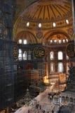 Εσωτερικό Sophia Hagia Στοκ Εικόνες