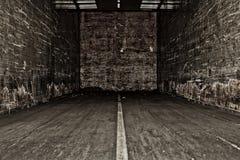 Εσωτερικό truck ή ημι ρυμουλκό Στοκ φωτογραφίες με δικαίωμα ελεύθερης χρήσης