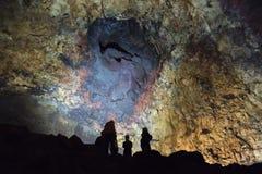 Εσωτερικό VolcanoÞrihnÅ «kagigur Στοκ Εικόνα