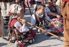 Ετήσια άνοιξη καρναβάλι στη Βάρνα, Βουλγαρία στοκ εικόνες με δικαίωμα ελεύθερης χρήσης