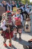 Ετήσια άνοιξη καρναβάλι στη Βάρνα, Βουλγαρία στοκ φωτογραφία