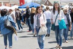 Ετήσια έκθεση οδών αγοράς τριφυλλιού στοκ φωτογραφία με δικαίωμα ελεύθερης χρήσης