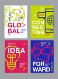 Ετήσια έκθεση 2018.2019.2020, σχέδιο σχεδιαγράμματος προτύπων, βιβλίο κάλυψης διανυσματική απεικόνιση, infographic, αφηρημένο επί Στοκ Εικόνες