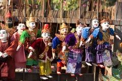 Ετήσια μαριονέτα του Μιανμάρ στοκ φωτογραφίες