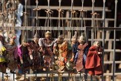 Ετήσια μαριονέτα του Μιανμάρ στοκ εικόνα