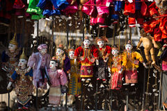 Ετήσια μαριονέτα του Μιανμάρ στοκ φωτογραφία