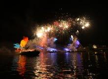 Ετήσια μεγάλη παρέλαση δράκων Στοκ εικόνες με δικαίωμα ελεύθερης χρήσης