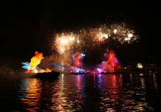 Ετήσια μεγάλη παρέλαση δράκων Στοκ εικόνα με δικαίωμα ελεύθερης χρήσης