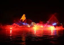 Ετήσια μεγάλη παρέλαση δράκων Στοκ φωτογραφία με δικαίωμα ελεύθερης χρήσης