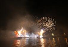 Ετήσια μεγάλη παρέλαση δράκων Στοκ Φωτογραφία