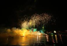 Ετήσια μεγάλη παρέλαση δράκων Στοκ Φωτογραφίες