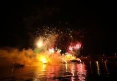 Ετήσια μεγάλη παρέλαση δράκων Στοκ Εικόνα