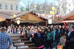Ετήσιος χιουμοριστικός παρουσιάζει στην Οδησσός στοκ φωτογραφίες