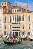 Ετήσιο καρναβάλι που εκτελείται στη Βενετία, Ιταλία Στοκ Φωτογραφία
