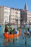 Ετήσιο καρναβάλι στην πόλη της Βενετίας, Ιταλία Στοκ φωτογραφίες με δικαίωμα ελεύθερης χρήσης