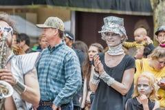 Ετήσιο φεστιβάλ UFO σε McMinnville Όρεγκον Στοκ φωτογραφία με δικαίωμα ελεύθερης χρήσης