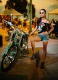 Ετήσιο φεστιβάλ των ποδηλατών σε Phuket στην Ταϊλάνδη Στοκ φωτογραφίες με δικαίωμα ελεύθερης χρήσης