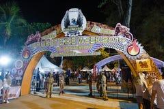 Ετήσιο φεστιβάλ των ποδηλατών σε Phuket στην Ταϊλάνδη Στοκ Εικόνες