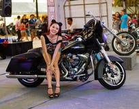 Ετήσιο φεστιβάλ των ποδηλατών σε Phuket στην Ταϊλάνδη Στοκ εικόνα με δικαίωμα ελεύθερης χρήσης