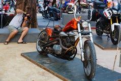 Ετήσιο φεστιβάλ των ποδηλατών σε Phuket στην Ταϊλάνδη Στοκ φωτογραφία με δικαίωμα ελεύθερης χρήσης