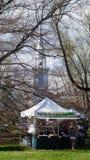 Ετήσιο φεστιβάλ Dogwood σε Fairfield, Κοννέκτικατ στοκ φωτογραφία