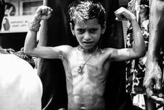 Ετήσιο φεστιβάλ Raathyatra, Ahmedabad, Ινδία αρμάτων στοκ εικόνα