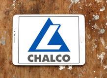 Εταιρία αργιλίου της Κίνας που περιορίζεται, λογότυπο Chalco Στοκ Φωτογραφίες