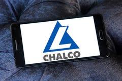 Εταιρία αργιλίου της Κίνας που περιορίζεται, λογότυπο Chalco Στοκ εικόνα με δικαίωμα ελεύθερης χρήσης