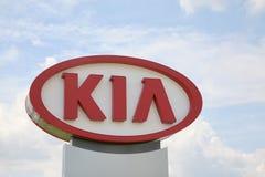 Εταιρία μηχανών της Kia στοκ φωτογραφίες