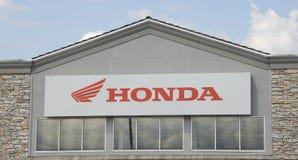 Εταιρία μοτοσικλετών της Honda Στοκ φωτογραφία με δικαίωμα ελεύθερης χρήσης