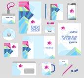Εταιρικά επιχειρησιακά πρότυπα ύφους καθορισμένα χαρτικά Στοκ φωτογραφία με δικαίωμα ελεύθερης χρήσης