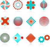 εταιρικά λογότυπα Στοκ Φωτογραφίες