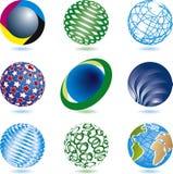 εταιρικά λογότυπα Στοκ φωτογραφία με δικαίωμα ελεύθερης χρήσης