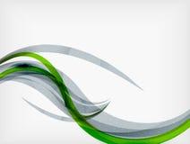 Εταιρικές επιχειρησιακές ρέοντας γραμμές διανυσματική απεικόνιση