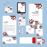 Εταιρικές ταυτότητες ή ταυτότητες γραφείων Στοκ εικόνες με δικαίωμα ελεύθερης χρήσης