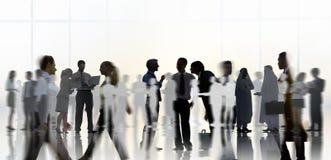 Εταιρική έννοια ομάδας επικοινωνίας επιχειρηματιών στοκ φωτογραφία με δικαίωμα ελεύθερης χρήσης